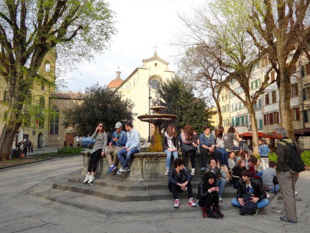 The Basilica di Santo Spirito