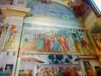(偉大なフレスコ画が残る)サンタ・マリア・デル・カルミネ教会 The Church of Santa Maria del Carmine