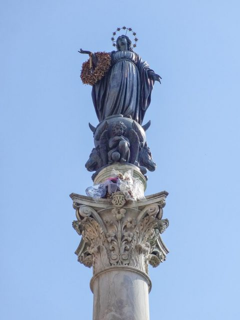 The Column of the Immaculate Conception