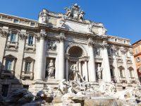 (世界最大のバロック様式の噴水)トレヴィの泉 The Trevi Fountain