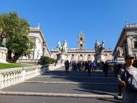 (古代ローマの象徴)カンピドリオの丘 The Capitoline Hill