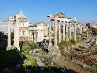 (古代ローマの公会広場)フォロ・ロマーノ The Roman Forum