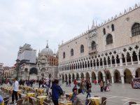 (ため息橋が架かる)ドゥカーレ宮殿 The Palazzo Ducale