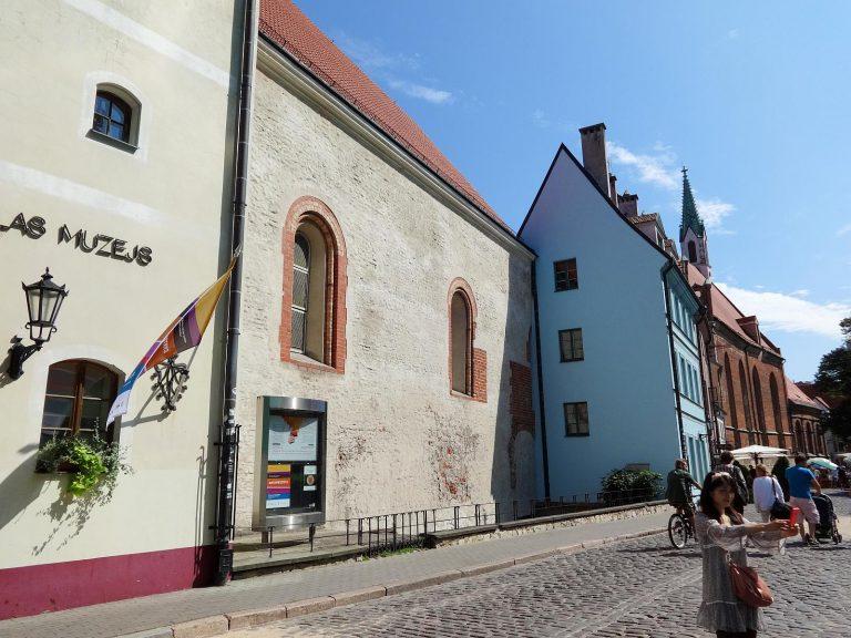 (リーガで最も古い現存する石造りの建物)聖ゲオルギ教会 St. George's Church