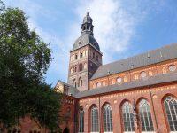 (バルトの国々の中で最も大きな中世の教会)リーガ大聖堂 Riga Cathedral