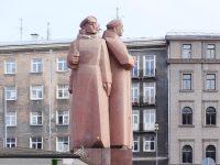 (元ソビエト)ラトビア人ライフル部隊の記念碑 The Monument to Latvian Riflemen