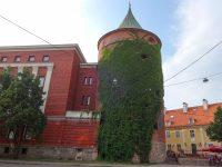 (リーガ市壁の塔)火薬塔 The  Powder Tower