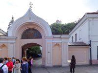 (荘厳な緑のイコノスタシス)正教会の聖霊教会 The Orthodox Church of the Holy Spirit