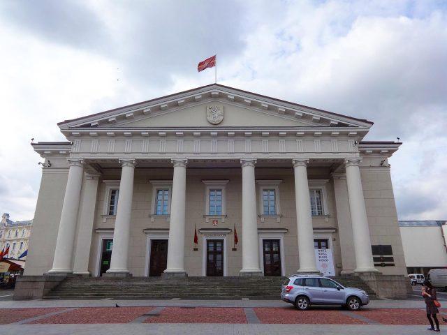 The Vilnius Town Hall