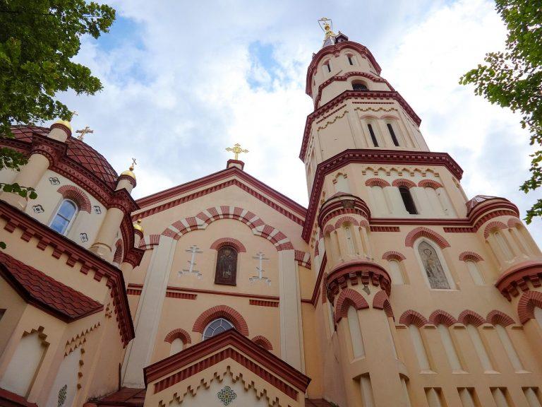 (ヴィリニュスで最古の正教会の教会の一つ)正教会の聖ニコラス教会 The Orthodox Church of St. Nicholas