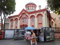 (ヴィリニュスで最古の正教会の教会の一つ)正教会の聖パラスケワ教会 The Orthodox Church of St. Paraskeva