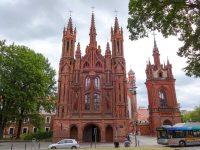 (煉瓦造火焔式ゴシックの傑作)聖アンナ(オノス)教会 The Church of St. Anne