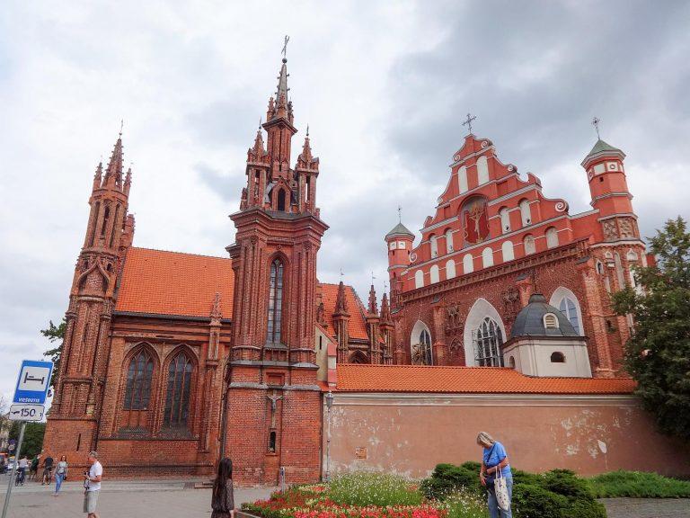 (煉瓦造ゴシック)聖フランチェスコおよび聖ベルナルドの教会 The Church of St. Francis and St. Bernard