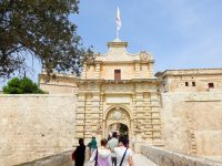(要塞都市イムディーナの正門)イムディーナ門 Mdina Gate