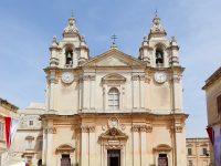 (マルタの司教座)聖パウロ大司教区大聖堂 The Metropolitan Cathedral of St. Paul