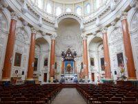 (バレッタの街の輪郭線を描くドーム)カーマライト聖堂 The Basilica of Our Lady of Mount Carmel