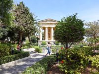 (グランドハーバーの公園)ロウアーバラッカガーデンズ The Lower Barrakka Gardens