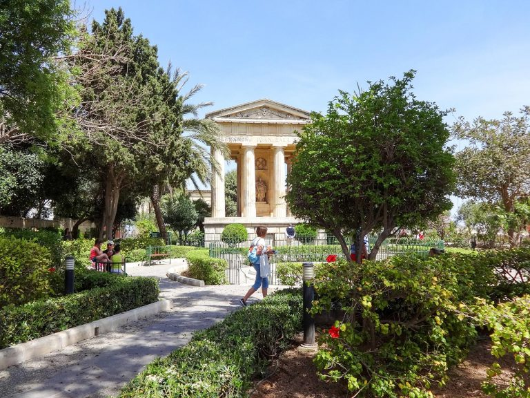 The Lower Barrakka Gardens