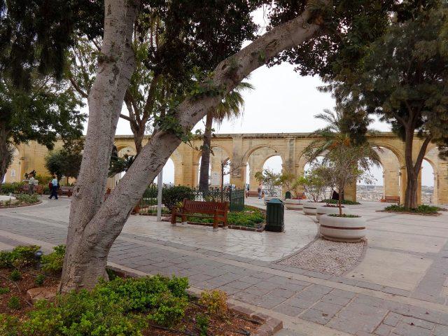 The Upper Barrakka Gardens
