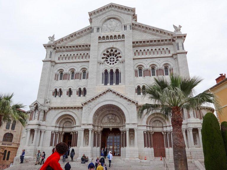(モナコ大聖堂)聖母の無原罪の御宿りの大聖堂 Cathédrale Notre-Dame-Immaculée