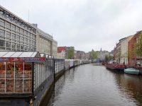 (シンゲル運河沿いにある)花市場 The Bloemenmarkt