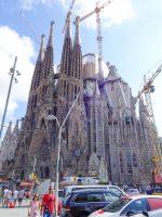 (アントニ・ガウディの大建築)サグラダ・ファミリア The Basílica i Temple Expiatori de la Sagrada Família
