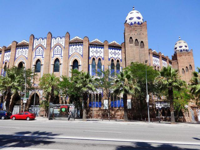 The Plaza Monumental de Barcelona