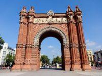 (1888年のバルセロナ万国博覧会の主たる門)バルセロナ凱旋門 The Arc de Triomf