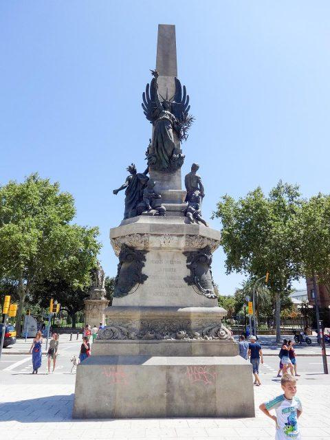 The Monument to Francesc de Paula Rius i Taulet