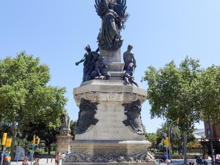 The Monument to Francesc de Paula Rius i Taulet