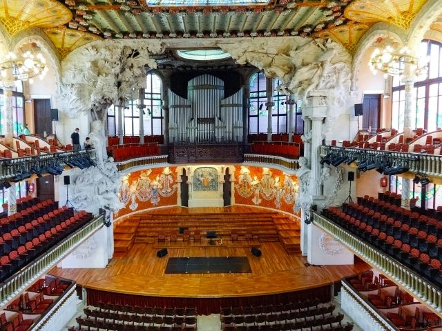 The Palau de la Música Catalana