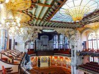 (神秘的で絢爛な音楽堂)カタルーニャ音楽堂 The Palau de la Música Catalana