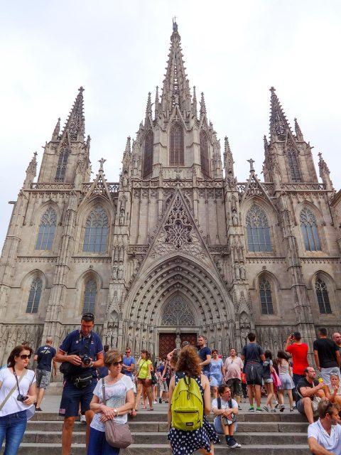 The Catedral de la Santa Creu i Santa Eulàlia