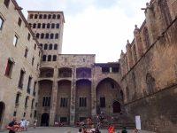 (王の広場を囲む)パラウ・レイアル・マジョール The Palau Reial Major