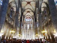 (カタルーニャのゴシック様式の傑作)サンタ・マリア・ダル・マル聖堂 Santa Maria del Mar