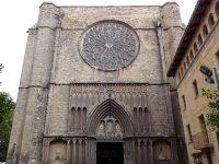 (カタルーニャのゴシック様式の美しい聖堂)サンタ・マリア・ダル・ピ聖堂 Santa Maria del Pi