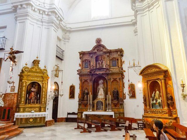 The Church of Santa Cruz