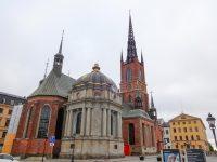 (スウェーデン君主が埋葬されている)リッダルホルム教会 Riddarholm Church