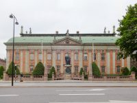 (絢爛たるバロック様式の議会)貴族の館 Riddarhuset