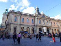 (ノーベル博物館が入っている)旧ストックホルム証券取引所 The Stockholm Stock Exchange Building