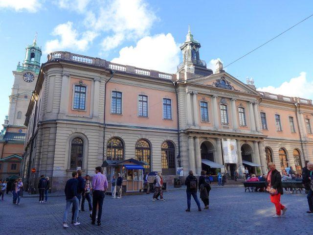 The Stockholm Stock Exchange Building