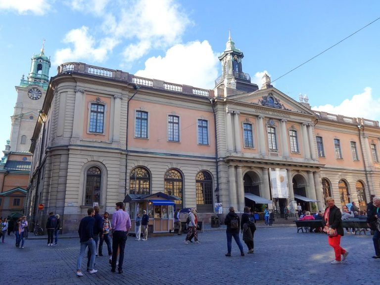 The Stockholm Stock Exchange Building