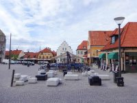 (ヴィズビューの中心)大広場 Stora Torget