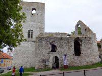 (ヴィズビュー市民に報復された教会の遺跡)聖ドロッテン教会 Sankt Drotten Church