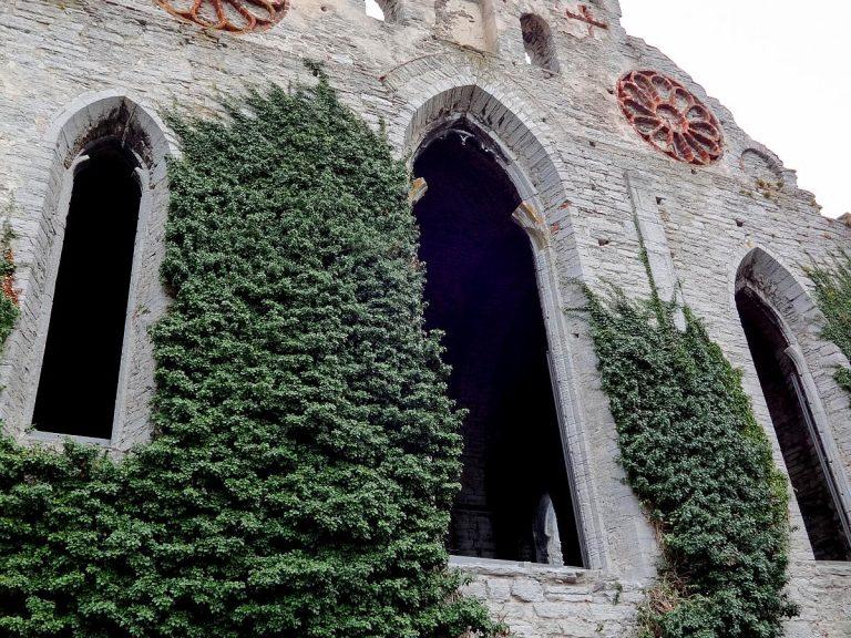 (ドミニコ会の大修道院の遺跡)聖ニコライ教会 Sankt Nicolai Church