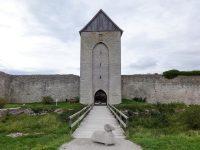 (ヴィスビュー輪壁に立つ船乗り達の陸標)ダルマン塔 The Dalman Tower
