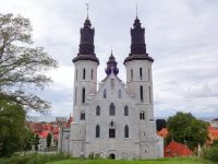(ヴィスビューに現存する唯一の教会)ヴィスビュー大聖堂 Visby Cathedral