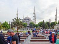 (ブルーモスク)スルタン・アフメト・モスク The Sultan Ahmed Mosque