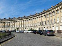 (ジョージアン建築の最も偉大な実例)ロイヤルクレッセント The Royal Crescent