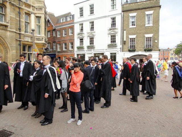 The Senate House of the University of Cambridge